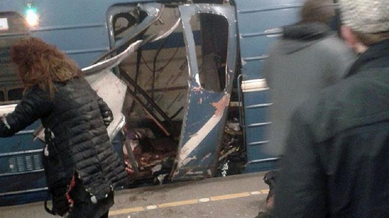 Rusya'da St. Petersburg metrosunda patlama oldu