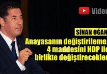 Sinan Oğan: Bu ülkeyi AKP-HDP işbirliğine kurban vermeyeceğiz