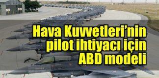 TSK'nın pilot ihtiyacı için havayolu pilotları devreye girecek