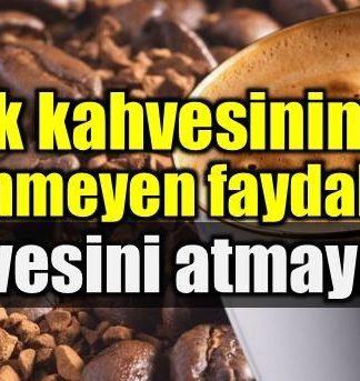 Türk kahvesi: Bu faydalarını biliyor muydunuz?