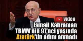 Ulusal Egemenlik ve Çocuk Bayramı'nda TBMM'de Atatürk tartışması