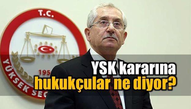 YSK'nın mühürsüz pusula kararına hukukçular ne diyor?