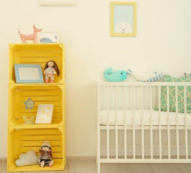 sarı çocuk odası