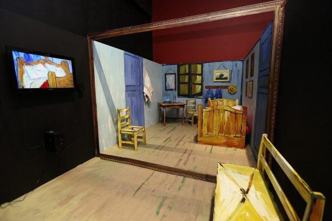 2. Çocuk Sanat Bienali: Van Gogh'un odasında gerçek gezinti