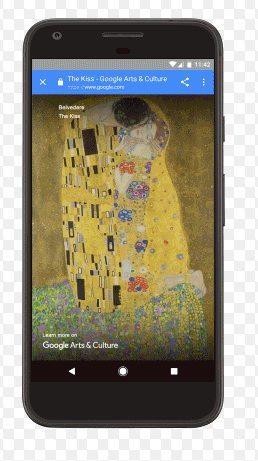 Google Kültür Sanat özelliği ekranınızı müzeye çeviriyor!