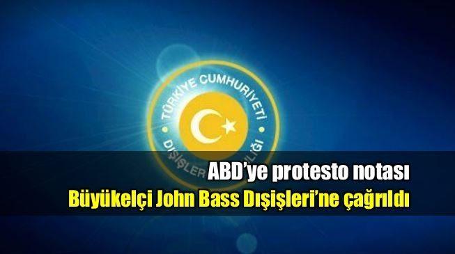 ABD Türk korumalara tavır ile ilgili nota verildi