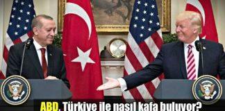 ABD Türkiye ile nasıl kafa buluyor? trump erdoğan ypg pyd