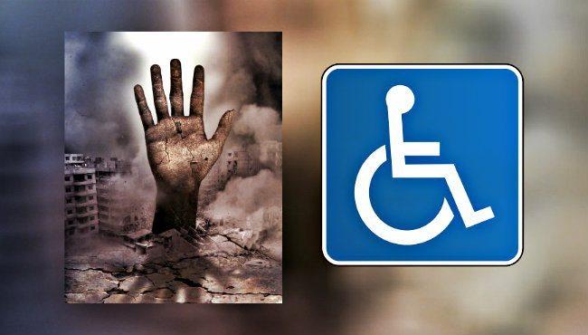 Afete hazırlıkta engellileri unutma! deprem engelliler