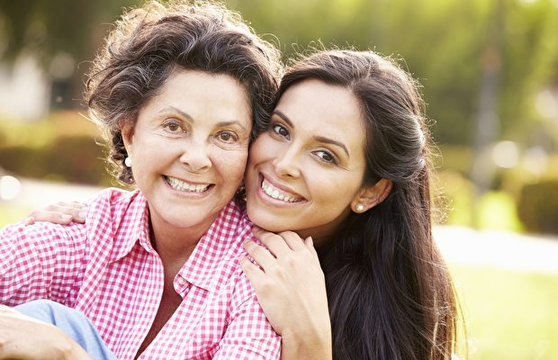 Annem ile bir anneler günü