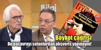 Atatürk'e hakaret eden dergiyi satanlara boykot çağrısı!