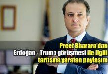 Bharara'dan Erdoğan-Trump görüşmesine dair tartışılan paylaşım