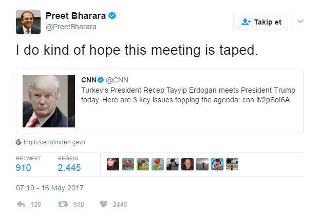 preet bharara twitter erdoğan trump tape