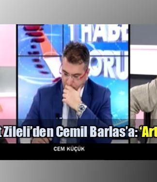 Cemil Barlas: Sözcü Aydın Doğan artıklarından oluşuyor