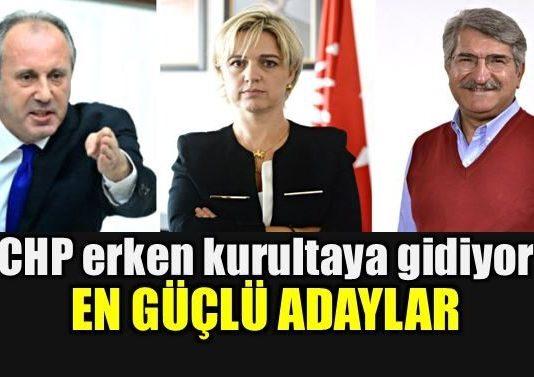CHP Kurultayı öne çekildi: Kılıçdaroğlu'na rakip en güçlü adaylar