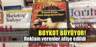 Derin Tarih isimli dergiyle ilgili boykot büyüyor!