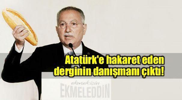 Ekmeleddin İhsanoğlu'nun Atatürk'e hakaret edilen Derin Tarih dergisinin danışma kurulu üyeliği yaptığı ortaya çıktı.