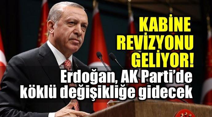Cumhurbaşkanı Erdoğan, 21 Mayıs'ta AK Parti Genel Başkanı olduktan hemen sonra partide ve kabinede köklü değişiklikler yapacak.