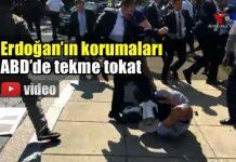 erdoğan'ın korumaları abd washington büyükelçiliği pkk kavga