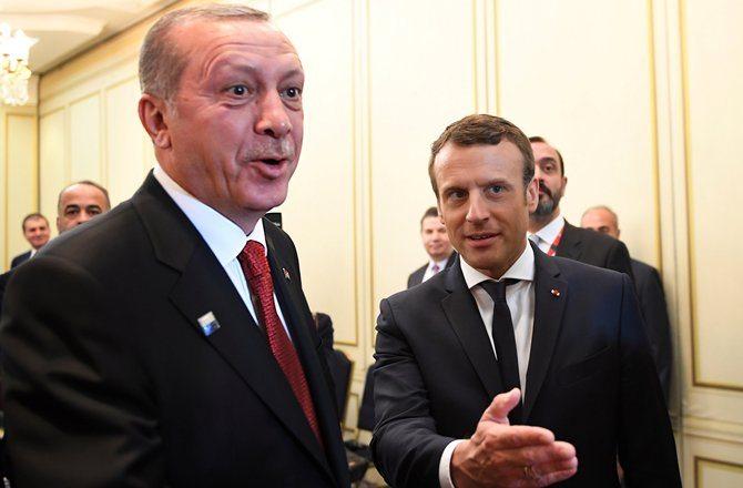 erdoğan macron