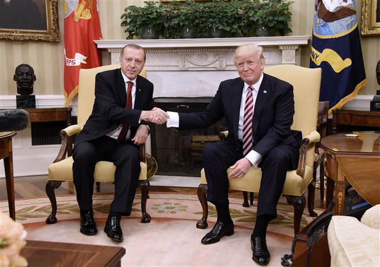 """Cumhurbaşkanı Erdoğan: """"YPG-PYD terör örgütlerinin muhatap alınması mutabakata uygun değil"""""""