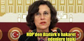 Filiz Kerestecioğlu hdp atatürke hakaret tepki