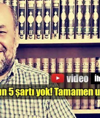İhsan Eliaçık İslam'ın 5 şartı tamamen uydurmadır hadisler