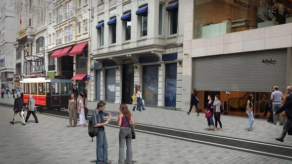 Nostalkik Tramvay'a ne olacak? İstiklal Caddesi böyle olacak proje fotoğrafları