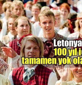 Letonya'daki doğum ve ölüm oranları bu şekilde devam ederse Leton halkı 100 yıl içinde tamamen yok olmakla karşı karşıya kalacak.