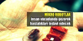 mikro robotlar mikro cerrahi robot