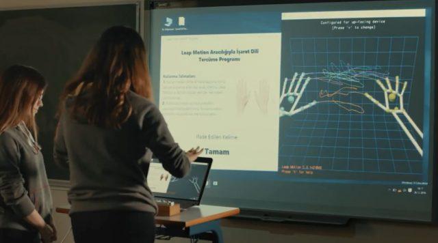 Neval Çam: İşaret dilini tercüme eden yazılımıyla Stanford'dan tam burs