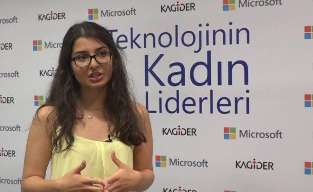 İşaret dilini tercüme eden yazılımıyla Stanford'dan tam burs alan lise öğrencisi Neval Çam
