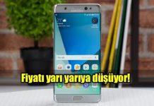 Samsung Galaxy Note 7R fiyatı yarı yarıya düşüyor!