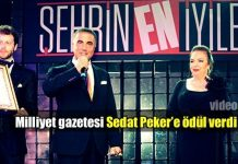 Milliyet'ten Sedat Peker'e 'En hayırsever iş adamı' ödülü