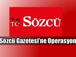 Sözcü Gazetesi'ne operasyon