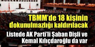 18 milletvekilinin dokunulmazlıklarının kaldırılması için tezkere