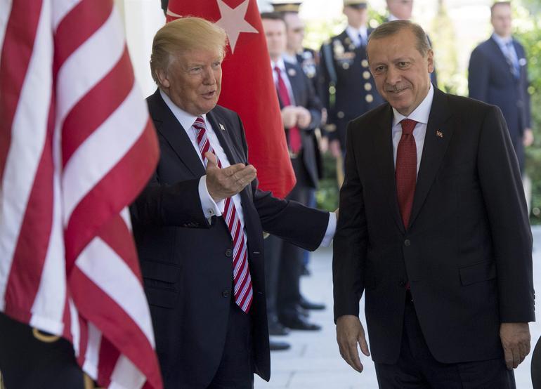 trump erdoğan beyaz saray washington abd ziyareti