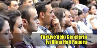 Türkiye'deki Gençlerin İyi Olma Hali Raporu