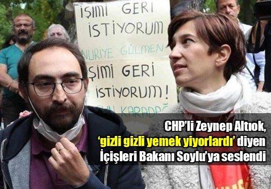 Zeynep Altıok'tan Nuriye Gülmen ve Semih Özakça açıklaması