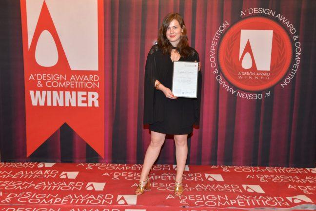 Genç Türk tasarımcısı Merve Uçar'a İtalya'dan 2 ödül