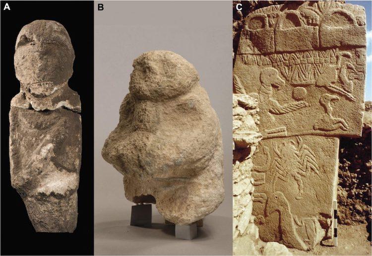 göbeklitepe göbekli tepe neolitik insan kemik kafatası