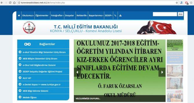 Konya Konevi Anadolu Lisesi