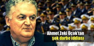 Ahmet Zeki Üçok TSK 50 bin FETÖ asker darbe yapabilir