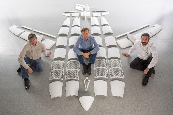 3 boyutlu yazıcılar thor airbus 3dp