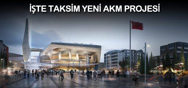 akm atatürk kültür merkezi taksim yeni proje opera binası