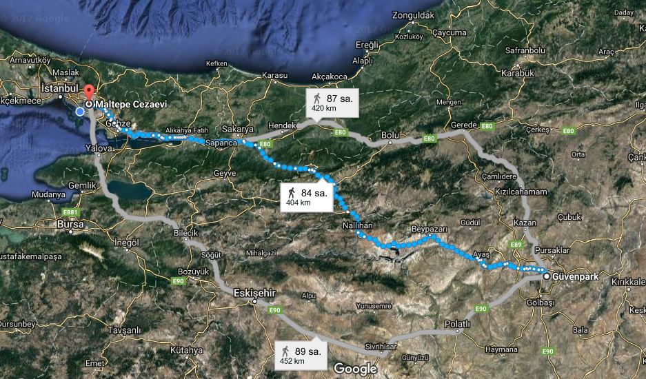 Kılıçdaroğlu Ankara'dan İstanbul'a kaç günde yürüyecek?