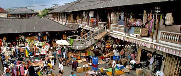 bali adası balayı endonezya ubud pazarı