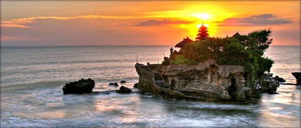Tanah Lot Tapınağı bali endonezya