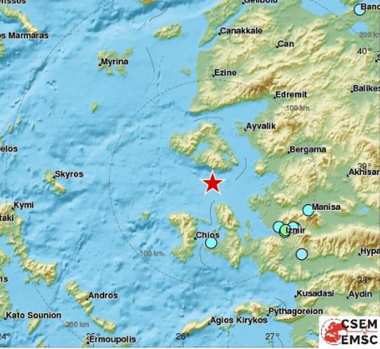 6.3 deprem izmir karaburun ege denizi