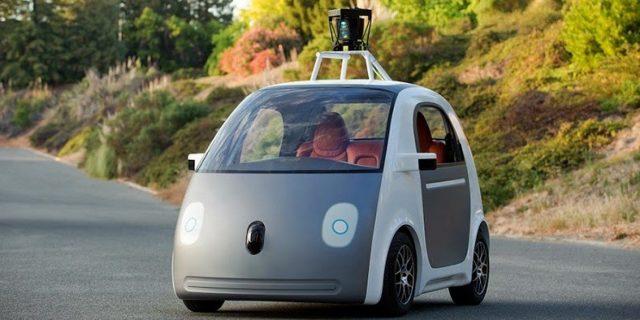 Google'ın geliştirdiği şoförsüz otomobil