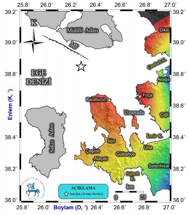 izmir karaburun depremden sonra en çok etkilenen bölgeler